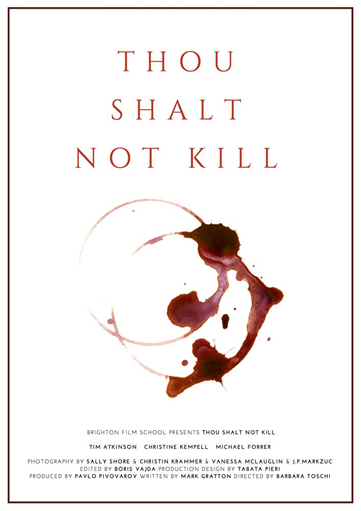 Thous Shalt Not Kill - Barbara Toschi